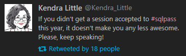 Words of Wisdom from Kendra